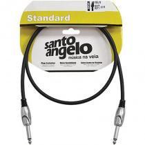 Cabo de Guitarra P10 Angels 0,91 Metro Niquelado NI3FT - Santo Angelo - Santo Angelo