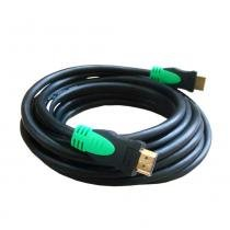Cabo HDMI 1.4 High Speed 5mts - Golden - Golden