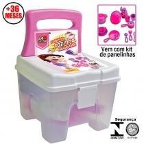 Cadeira Cozinha Maluquinha Com Kit de Panelinhas - Bell Toy - Bell Toy