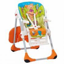 Cadeira de Alimentação Chicco Polly 2 em 1 - Wood Friends - Chicco