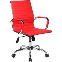 Cadeira de Escritório Giratória Presidente - Regulável Travel Max