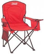 Cadeira Dobrável com Cooler Vermelha Coleman - Coleman