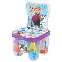 Cadeira Educa Kids Frozen 44 Peças - Lider Brinquedos