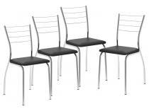 Cadeira em Aço 4 Peças Móveis Carraro - Casual 1700