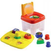Cadeira Infantil Brinkadeira Tic Tac Pedagógica MK247 - Dismat - Dismat