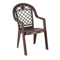 Cadeira Jamaica Bronze - Marrom - Grosfillex