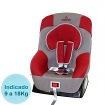 Cadeira para Auto Galzerano Maximus - Cinza Vermelho - Galzerano