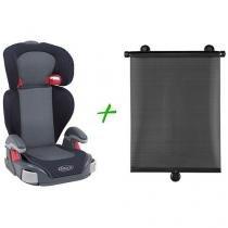 Cadeira para Auto Graco Junior Maxi Metropolitan - 15 até 36kg + Protetor Solar Retrátil