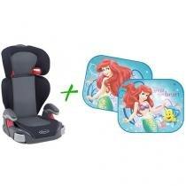 Cadeira para Auto Graco Junior Maxi Metropolitan - 15 até 36kg + Redutor de Claridade Disney Ariel