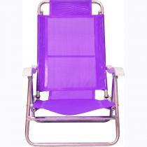 Cadeira Sol De Verão Fashion Lilás Mor - Mor