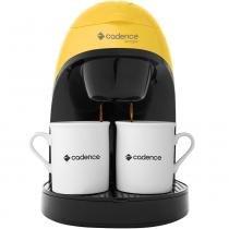 Cafeteira Single Colors Amarela - 220V - Cadence