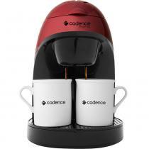 Cafeteira Single Colors Vermelha - 220V - Cadence