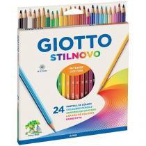 Caixa de lápis de cor 24 Peças Giotto - Stilnovo