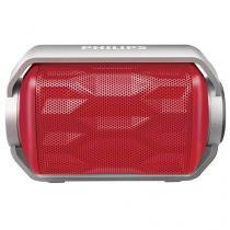 Caixa de Som Philips BT2200R/00 2,8W RMS - Acústica Bluetooth à Prova de Água