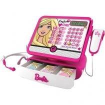 Caixa Registradora Fashion Store Barbie Luxo - Infantil Fun 7274-9.