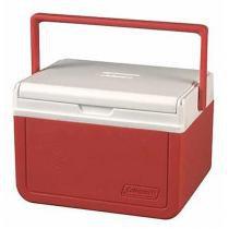 Caixa Térmica Coleman 5QT 4,7 Litros Take 6 Vermelha - Coleman