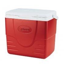 Caixa Térmica Excursion 16QT 15,2 litros vermelha Coleman - Coleman