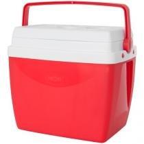 Caixa Térmica Mor 26L - com Alça Regulável Vermelho