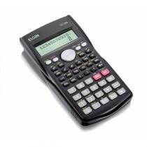 Calculadora Cientifica Elgin 12 Dígitos c/ 240 Funções, tampa Protetora, Display CC240 - Elgin