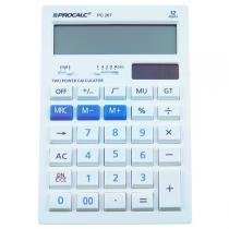 Calculadora de Mesa 12 Dígitos Bivolt Branca PC267 - Procalc - Procalc