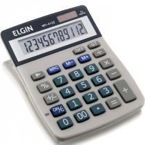 Calculadora de Mesa 12 Dígitos MV-4122 com Célula Solar - Elgin - Elgin