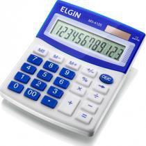 Calculadora de Mesa 12 Dígitos MV-4125 com Célula Solar Azul - Elgin - Elgin
