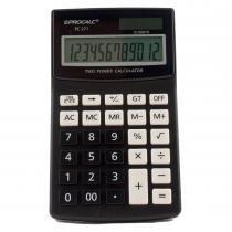 Calculadora de Mesa 12 Dígitos Preta PC271 - Procalc - Procalc