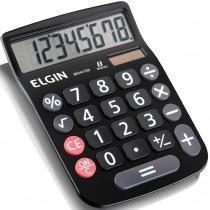 Calculadora de Mesa 8 Dígitos MV-4133 com Célula Solar Preta - Elgin - Elgin