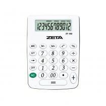 Calculadora de Mesa Zeta ZT-392 12 Digitos Branca - Zeta