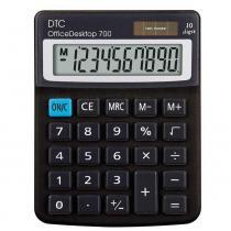 Calculadora Office Desktop 700 Preta - Dtc - DTC