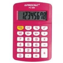 Calculadora Pessoal 8 Dígitos Pink PC986-P - Procalc - Procalc