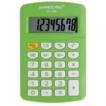 Calculadora Pessoal 8 Dígitos Verde PC986-GN - Procalc - Procalc