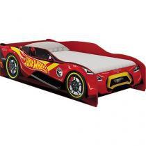 Cama Infantil 93x217cm Pura Magia - Hot Wheels Fun