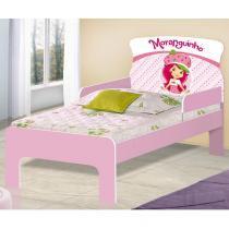 Cama Infantil Angel - Fran - Moranguinho - Rosa - JA Móveis