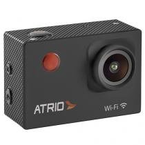 "Câmera Digital Átrio FullSport 16MP Esportiva - Visor 2"" Panorâmica Filma em Full HD Wi-Fi"