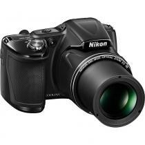 Câmera Digital Nikon Coolpix L830 Preta - Nikon