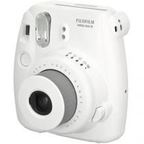 Câmera Instantânea Fujifilm Instax Mini 8 Branco Flash Automático Foco Regulável