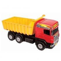 Caminhão Infantil Super Caçamba com Pá e Rastelo 5050 - Magic Toys - Magic Toys