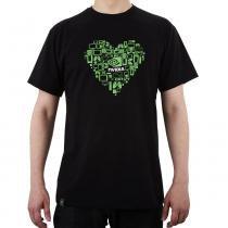 Camiseta Masculina Coração Tamanho G NVIDIA - G - Nvidia