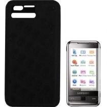 Capa De Silicone Samsung Omnia Preto - Samsung