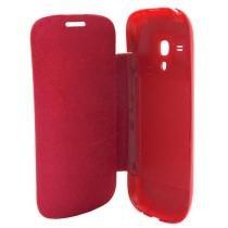 Capa Flip Cover Samsung Galaxy S3 Mini Vermelho - Idea - Idea
