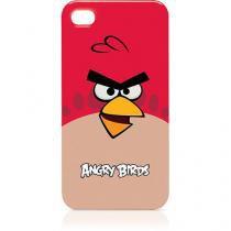 Capa iPhone 4 Angry Birds Vermelha - Angry Birds