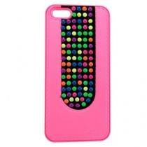 Capa iPhone 5/5S/SE Colorida Rosa - Idea - Idea