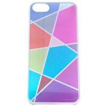 Capa iPhone 5/5S/SE Pc Geometric Branco/Colorido - Idea - Idea