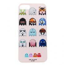 Capa iPhone 5/5S/SE Pc Pac Man Rosa - Idea - Idea