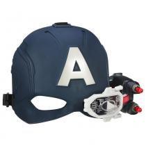 Capacete com Visor Capitão América Marvel Avengers B5787 - Hasbro - Hasbro
