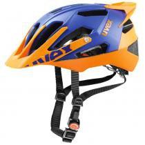 Capacete Quatro Pro Uvex - Azul / Laranja - P - M - Uvex