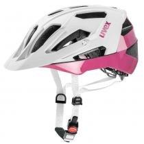 Capacete Quatro Uvex - Branco / Pink - P - M - Uvex