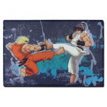 Capacho Luta Ken vs Ryu - Colorido - Fábrica Geek