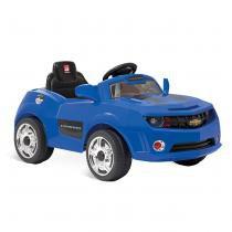 Carrinho Camaro Azul com Controle Remoto 2613 - Bandeirante - Bandeirante